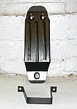Захист картера двигуна і кпп, диф-ла, паливного бака Renault Duster 2010-, фото 3