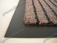 Ковер грязезащитный Полоска без вкраплений, 60х90см., коричневый