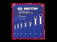 Набор ключей комби с трещеткой 7шт. (10-19мм) KINGTONY 12107MRN