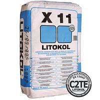 Клей для плитки и керамогранита LITOKOL X11 ,20 кг. Litokol /(Италия )