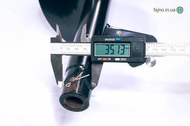 Бур для мотобура 200 мм х 1000 мм
