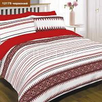 Комплект полуторный постельного белья Ранфорс Вилюта Viluta 12175 красный