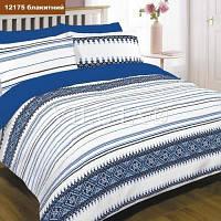 Комплект полутрный постельного белья Ранфорс Вилюта Viluta 12175 синий