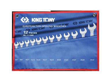 Набор ключей рожковых 12шт. (6-32мм) KINGTONY 1112MRN