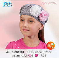 Берет для девочки TuTu арт. 3-001501
