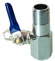 Тройник для подключения фильтра к водопроводу