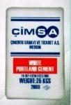 Цемент белый Cimsa 52.5 мешок 25 кг