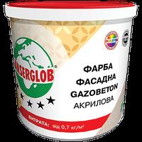 Акриловая фасадная краска Gazobeton структурная 14 кг