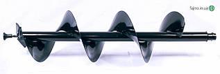 Шнек Кентавр для мотобура (250 х 1000 мм)