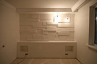 Обшивка стен комнаты гипсокартоном