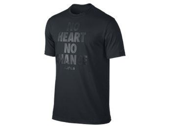 Nike Футболка Lebron No heart no change, фото 2