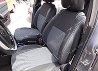 Чехлы на сиденья Шевроле Авео Т250 (чехлы из экокожи Chevrolet Aveo Т250 стиль Premium)