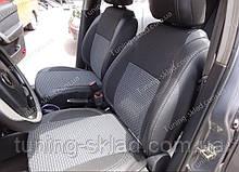 Чохли на сидіння Шевроле Авео Т250 (чохли з екошкіри Chevrolet Aveo Т250 стиль Premium)
