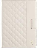 "Стильный стеганый чехол iPad Air BELKIN Quilted Cover 9.7"" (Cream) F7N073B2C01 бежевый"
