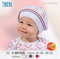Шапка для девочки TuTu арт. 3-001525