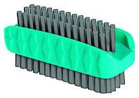 Щетка для рук двухсторонняя NY SPRING, 90 x 70 x 40 мм, лазурный с серым York Y-040070-02