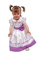 Платье нарядное детское с подъюбником, пышное М -915 рост 98 104 116 122