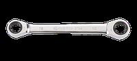 Ключ накидной двухсторонняя трещетка 12х13мм KINGTONY 37361213