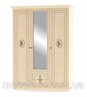 Шкаф Флорис 3Д 2125х1500х584мм клен   Мебель-Сервис, фото 2