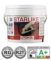 Затирка Starlike c240 антрацит, Литокол эпоксидная 5кг
