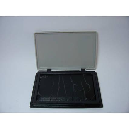 Подушка штемпельная настольная 70х110 мм Economix 42101 черная