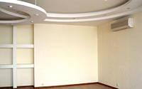 Обшивка стен гипсокартоном по металлическому каркасу