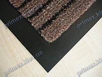 Ковер грязезащитный Полоска без вкраплений, 40х60см., коричневый