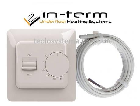 Терморегулятор для теплої підлоги IN-Therm RTC 70 (механіка), фото 2