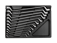 Ключи накидные (комплект) в ложементе  6-32 мм. KINGTONY 9-1711MR