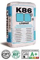 Цементный клей быстрого схватывания LITOFAST K86