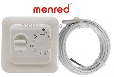 Терморегулятор для теплої підлоги Menred RTC 70 (механічний), фото 2