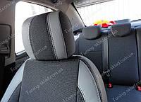 Чехлы на сиденья Шевроле Авео Т300 (чехлы из экокожи Chevrolet Aveo Т300 стиль Premium)