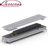 Внутрипольный конвектор Carrera CV (МV)-Inox/Black