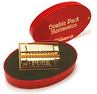 Губная гармошка HOHNER Double Puck Harmonicas