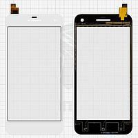 Touchscreen (сенсорный экран) для Gigabyte GSmart Guru G1, оригинал, белый