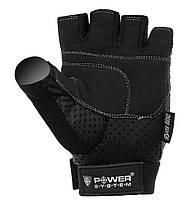 Перчатки для фитнеса и тяжелой атлетики Power System Power Plus PS-2500 Black, фото 2