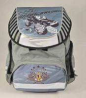 """Ортопедический рюкзак Tiger 1728-2 """"Racing """" Серый"""