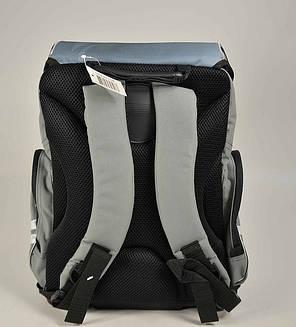 """Ортопедический рюкзак Tiger 1728-2 """"Racing """" Серый, фото 2"""