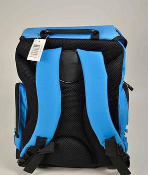 "Ортопедический рюкзак Tiger 1728-4 ""Racing "" синий, фото 2"
