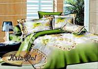 Комплект постельного белья ТМ KRIS-POL (Украина) ранфорс полуторный 4818362