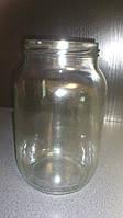 Банка стеклянная 1 л с горловиной твист 82 мм (12 штук в упаковке)