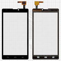 Touchscreen (сенсорный экран) для ZTE Blade L2, черный, оригинал
