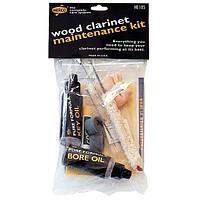 Набор по уходу за деревянным кларнетом DUNLOP HE105 Wood Clarinet Maintenance Kit