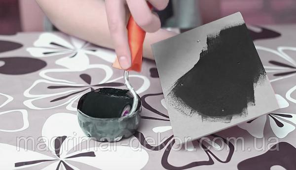 Этап 2 чем покрасить грифельную доску