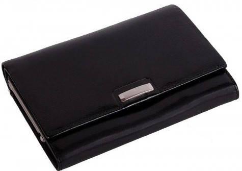 Практичный женский кошелек Vip Collection 29A PL черный