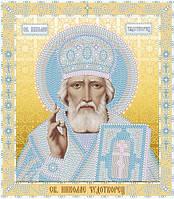 Набор для вышивки бисером. Икона Николай Чудотворец.
