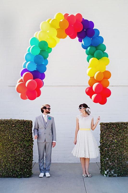 арка для воздушных шаров