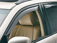 Ветровики окон Lexus RX 300/350/400 2009 -> С Хром Молдингом