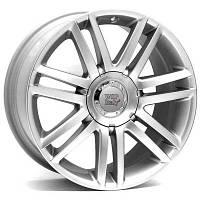 WSP Italy W544 R20 W8 PCD5x100 ET45 DIA57.1 Silver