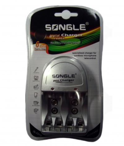 Зарядний пристрій для акумуляторів Songle SL-CD13